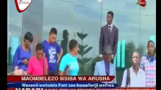 Wasanii Wawalilia Wanafunzi Lucky Vicent