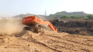 Super Stunt in Mud By Excavator Driver | Poclain Video | Tata Machine | Excavator Machine Video