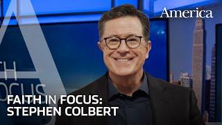 Stephen Colbert on faith, God and politics in the age of Trump | Faith in Focus