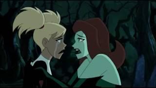 Poison Ivy vs Harley Quinn :  catfight!