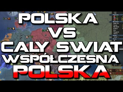 POLSKA VS CAŁY ŚWIAT!    Europa Universalis 4 Współczesna Polska #34