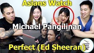 "Michael Pangilinan Performs ""Perfect"" (Ed Sheeran) LIVE On Wish 107.5 Bus   Reaction - Asians"