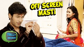 Lakshya And Ragini's Off Screen Masti | Swaragini