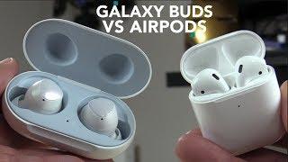 Galaxy Buds VS AirPod 2 FULL COMPARATIVA,  Cuál emana mas radiación UNBOXING