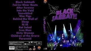 Black Sabbath Iron Man Mexico 2016