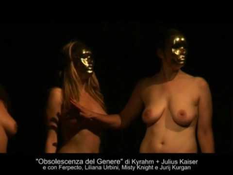 Gender Obsolescence Human Installation by Kyrahm Julius Kaiser Extreme Gender Art