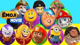 Mega Play Doh 30 Eggs with Emoji Movie, Fingerlings Zoe, LOL Surprise Luxe, Pixar Coco Movie