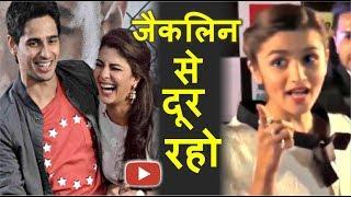 "Jacqueline Fernandez Se Jealous Ho Rahi Hain ""Alia Bhatt"" | Sidharth Malhotra"