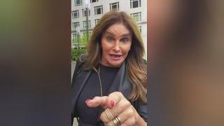 Caitlyn Jenner uses womens bathroom at Donald Trump's hotel