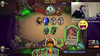 Hearthstone Forsen Saved By Jeweled Scarab