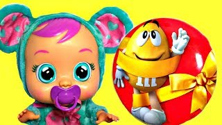 Real Baby Doll Food Candy! Learn Colors with Baby Songs and Nursery Rhymes