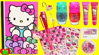 Hello Kitty Secret Reveal Diary and Hatchimals Colleggtibles Surprises