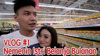 Daily VLOG #1 - After married life + Belanja Bulanan