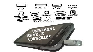 How to Make a Universal Remote Controller For Smartphone