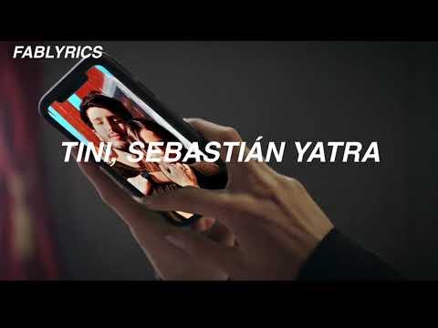 TINI Sebastián Yatra Oye LETRA