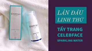 Men's Beauty Tips - Lần đầu Linh thử Ep13 : tẩy trang Celebface sparkling water