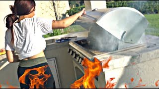 OUR HOUSE ALMOST BURNED DOWN!!   COOKING WITH THE PRINCE FAMILY (PART 28)