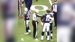 Refs caught CELEBRATING the Pats win, Did they RIG these plays?