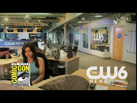 CW6 News in the Morning goes inside Comic-Con International 2016