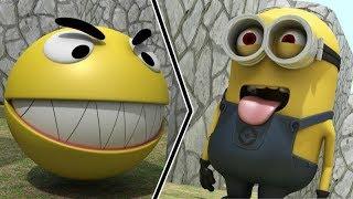 Pacman vs Minions