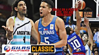 Throwback // Gilas Pilipinas vs Argentina Full Game Highlights / 2014 FIBA World Cup / Spain 2014
