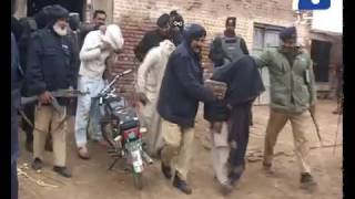 Sargodha Police In Action