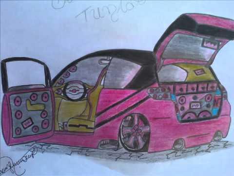 Desenhos de carros tunados da Nann� � Parte 2°