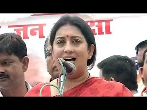 Xxx Mp4 Smriti Irani Promises To Pay For Insurance Of 25 000 Women In Amethi 3gp Sex