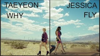 taeyeon why / jessica fly