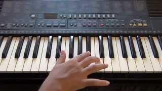 Kabhi Jo Badal Barse Piano Tutorial by Atul - How to play on Harmonium or Piano