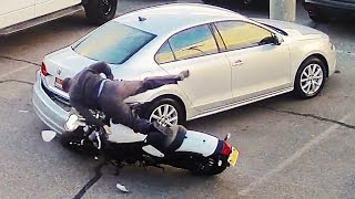 Hectic Road Bike Crashes & Motorcycle Mishaps 2017 [Ep.#15]