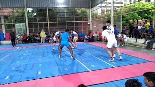 Kabaddi match (Part:-2) ( Iran vs Rajasthan Police) India in chogan stadium 2018