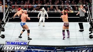 Los Matadores & El Torito vs. Cesaro, Kidd & Natalya – 6-Being Interspecies Match: SmackDown