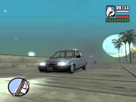 Tirando Corte Con Mi Renault 9 GTA SA