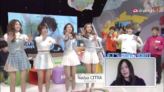 After School Club-BESTie and B.I.G having hang out time with fans 2   팬들과 영상통화하는