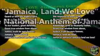 "Jamaica National Anthem ""Jamaica, Land We Love"" with vocal and lyrics English"