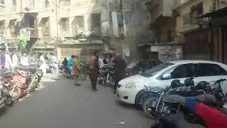 Karachi Cloth Market Boom Attack