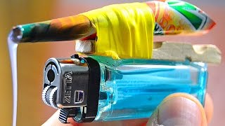 3 Incredible ideas and Life Hacks Lighters