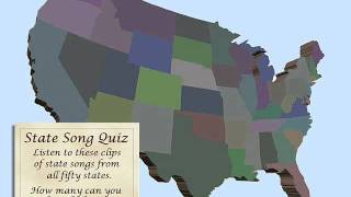 Fifty State Song Quiz