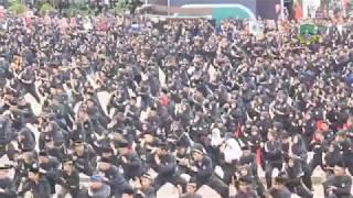 Ribuan Jawara Banten Menyerbu Alun-alun Serang