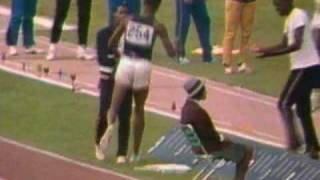 Bob Beamon's World Record Long Jump - 1968 Olympics