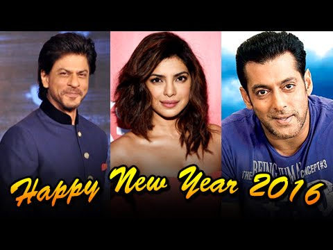 Salman Khan, Shahrukh Khan, Priyanka Chopra - Bollywood Stars Wish Happy New Year 2016