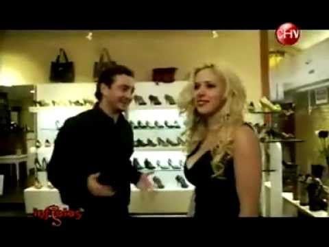 MATILDE BONASERA INFIELES CHILEVISION 2011 Taco alto