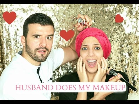 MY HUSBAND DOES MY MAKEUP TAG   Salima Le Vaut Bien