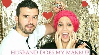 MY HUSBAND DOES MY MAKEUP TAG | Salima Le Vaut Bien