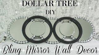 DIY DOLLAR TREE MIRROR WALL DECOR | DIY MIRROR | DIY HOME DECOR | DIY ROOM DECOR