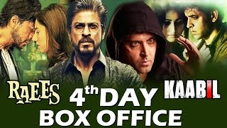 Kaabil 4th Day Box Office Collection