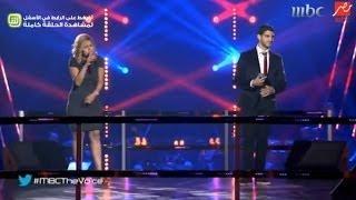 "#MBCTheVoice - ""الموسم الثاني - عايدة محمد و وائل المعلم ""قولي قولي"