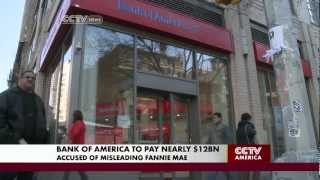 Bank of America to pay near; $12 billion to Fannie Mae