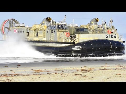 Japanese & American Military Hovercrafts Storm